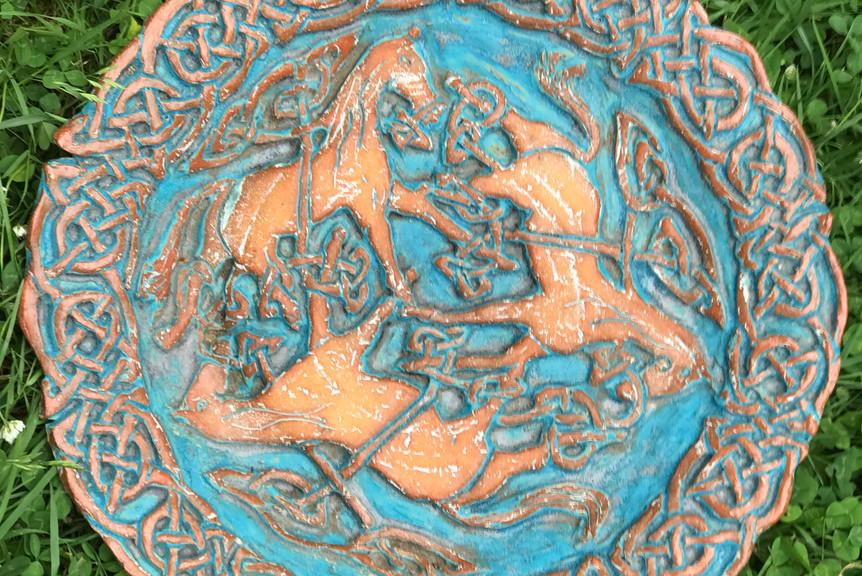 Celtic Knot Platter