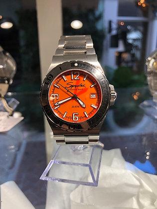 Orange Face Spyder Watch