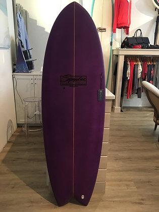 Purple Spyder Wright Surfboard