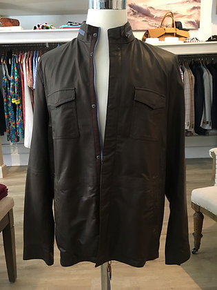 Reversible Leather/Raintech