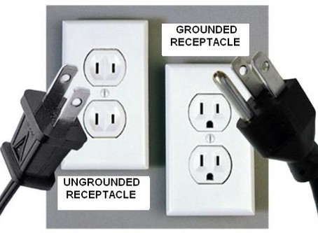 Ungrounded Electrical Receptacles