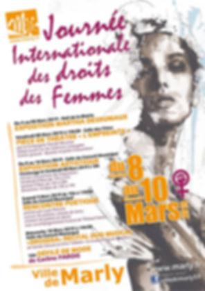 Défilé de mode Carlinae Journée Internationale des Droits des Femmes