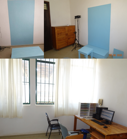 RDTC photography room - painted