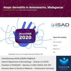 Presentation on Atopic Dermatitis with an emphasis on the importance of the use of digital tools (AI and the PASSION project)