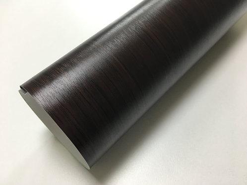 124cmx10m  木目調シート 柾木(濃茶色)