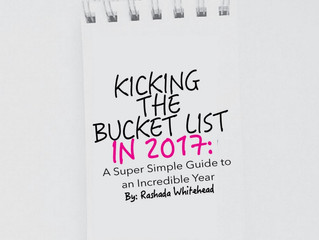 Kicking the Bucket List in 2017