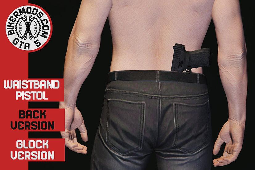 Waistband Pistol Glock (Back)