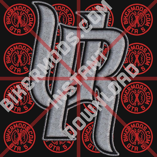 Uptown Riders White HD Emblem (Instant Download)