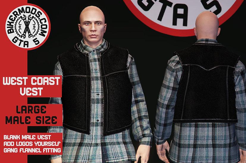 West Coast Vest (Large Size) Updated