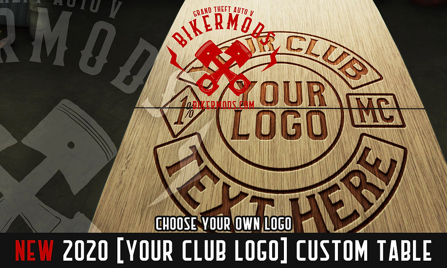 [YOUR CLUB LOGO] Custom Table
