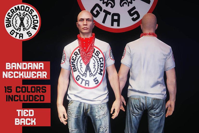 Bandana Neckwear (Tied Back)