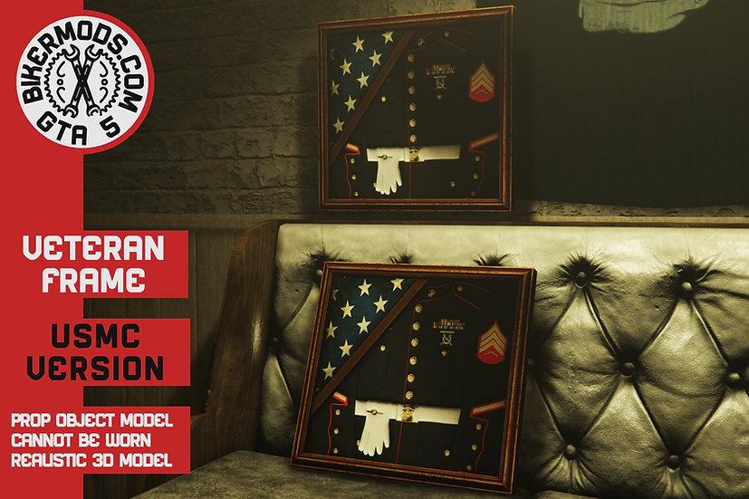 (USMC) Veteran Marines Frame (Contact Us For Custom Design)