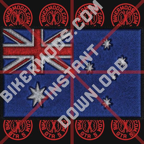 Australia Flag HD Emblem (Instant Download)