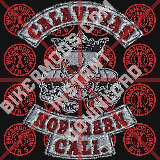 Calaveras MC Northern Cali HD Emblem (Instant Download)