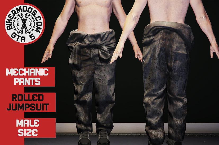 Mechanic Pants (Rolled Jumpsuit)