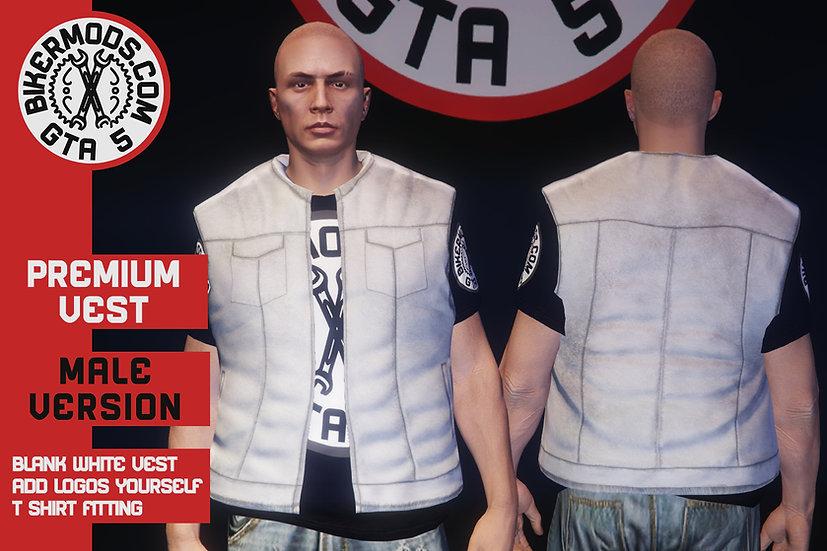 Premium Vest (White)