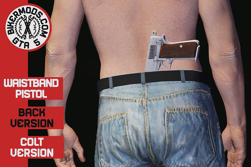 Waistband Pistol Colt (Back)