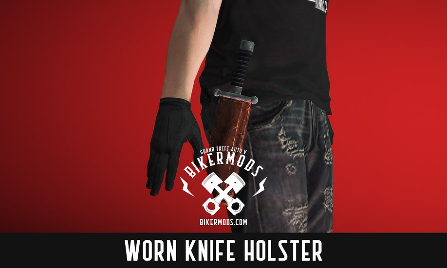 Worn Knife Holster