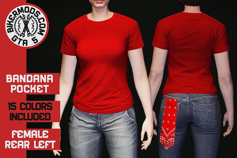 Bandana (Back Left Pocket) (FEMALE)