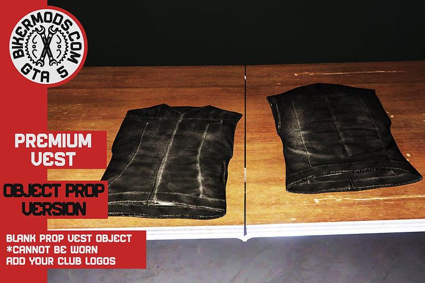 Premium Vest (Closed) Object Prop Model