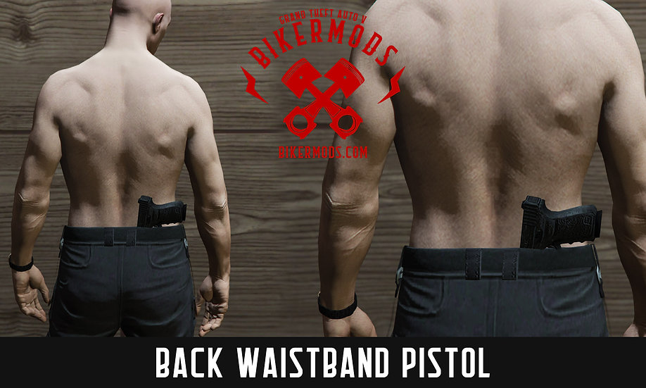 Gun in Back Waistband