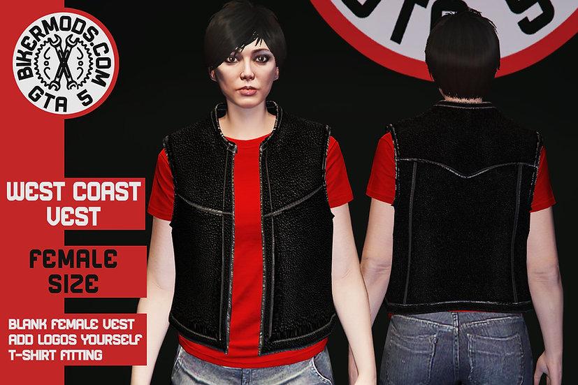West Coast Vest (Female) Updated