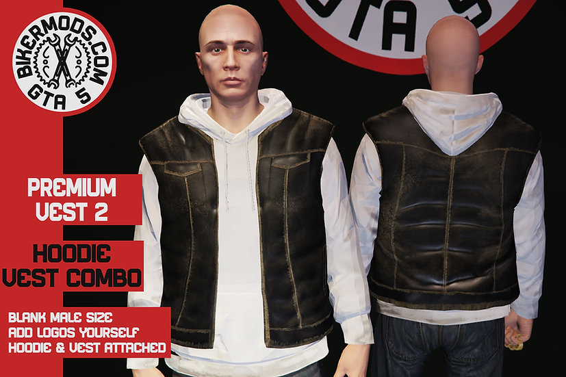 Premium Vest 2 (Hoodie Combo)