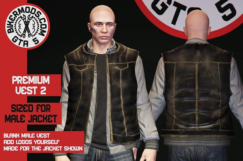 Premium Vest 2 (Large Jacket Size)