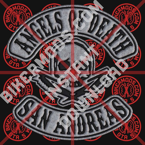 Angels of Death MC SA HD Emblem (Instant Download)