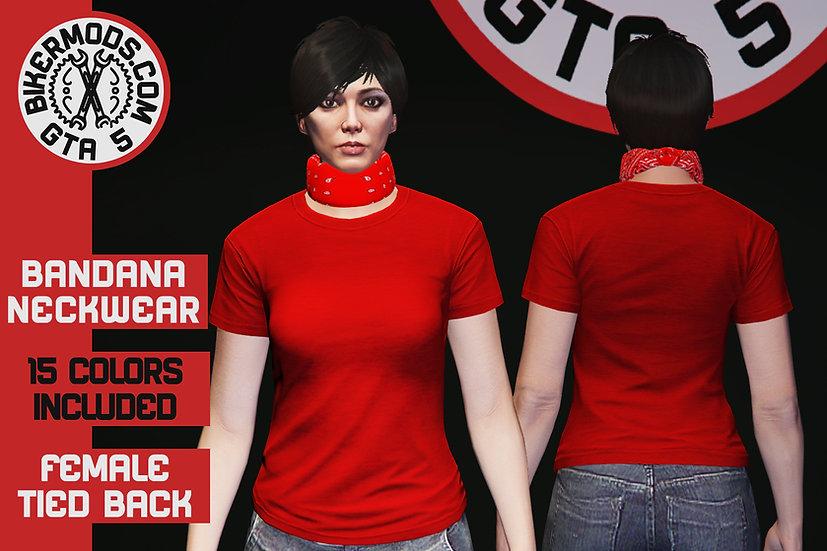 Bandana Neckwear (Tied Back) (FEMALE)