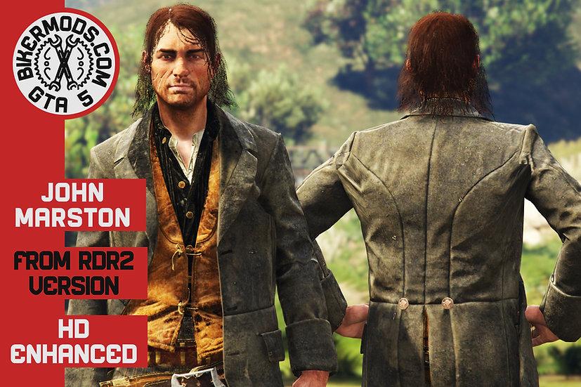John Marston (Red Dead Redemption 2) HD Enhanced