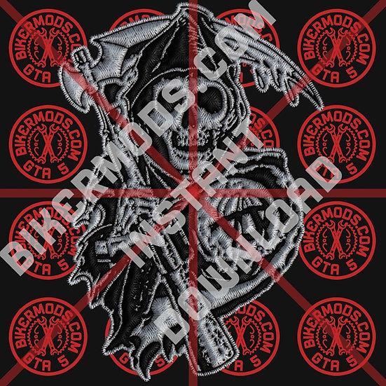 Samcro Reaper HD Emblem (Instant Download)