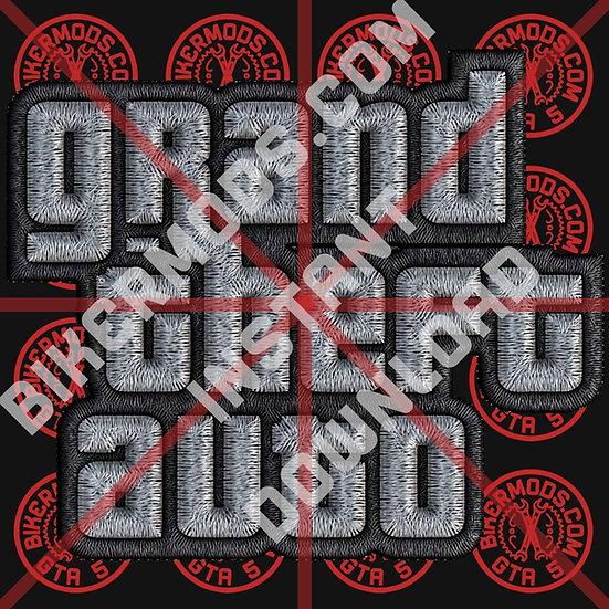 GTA Logo HD Enhanced Emblem (Instant Download)