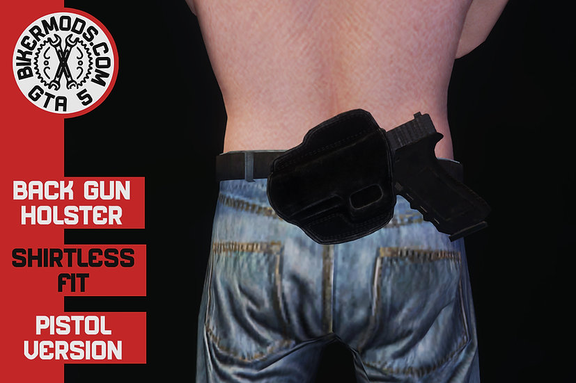 Waistband Gun Holster Glock (Back)