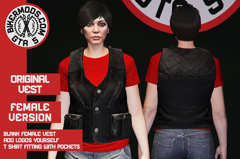 Original Vest (Female) With Pockets