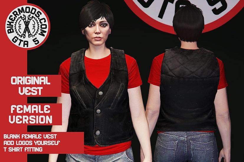 Original Vest (Female) No Pockets
