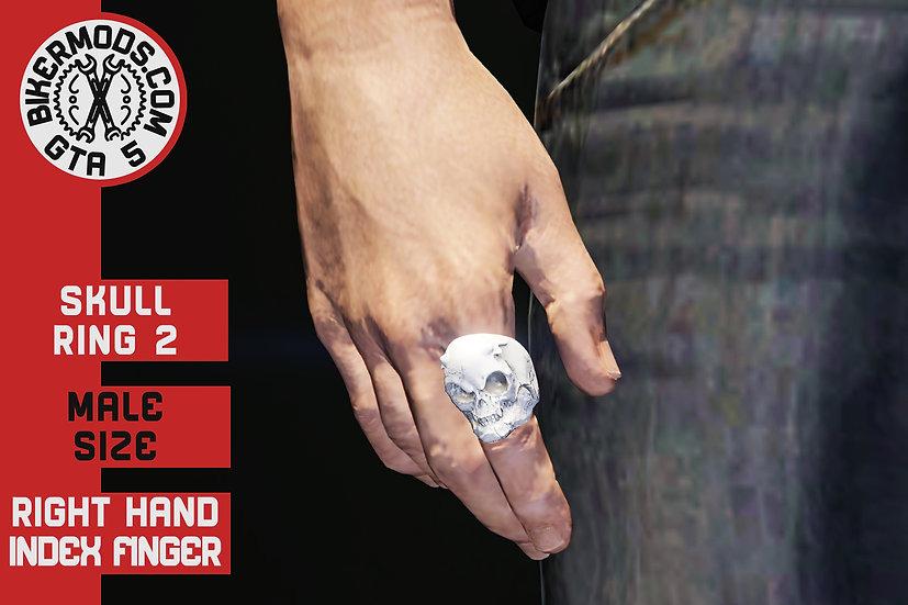 Skull Ring 2 (R Hand) Index Finger