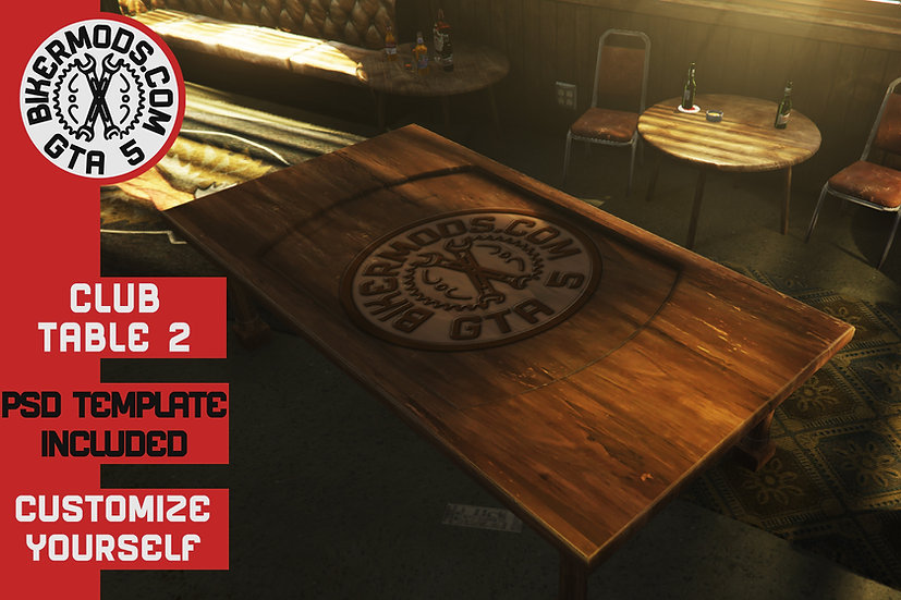 Custom Club Table 2 (With PSD Template Included)