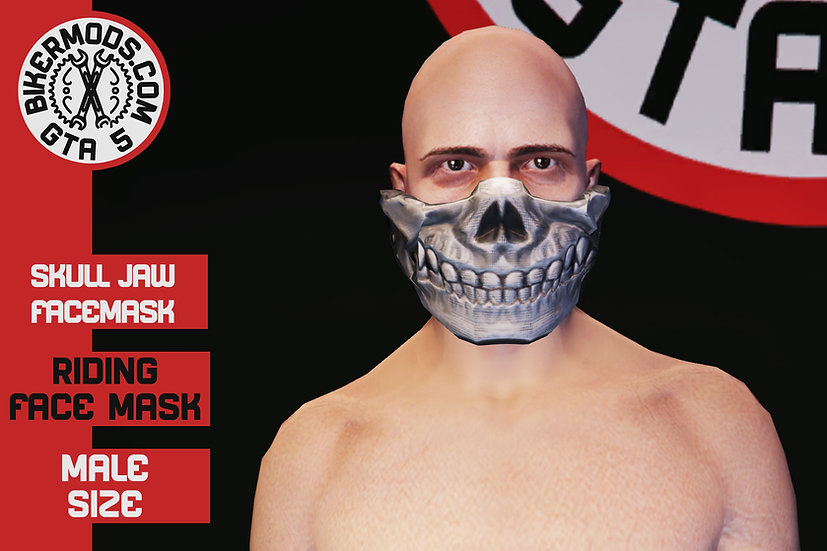 Skull Facemask (Jawpiece)