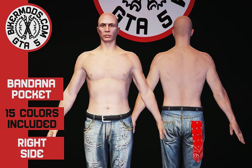 Bandana (Back Right Pocket)