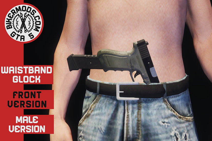 Waistband Extended Glock (Front)
