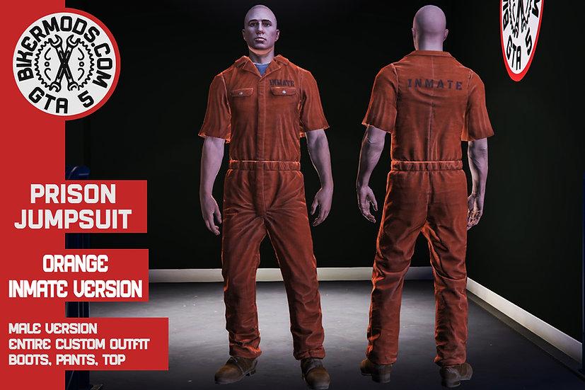 Prison Jumpsuit (Orange Inmate)