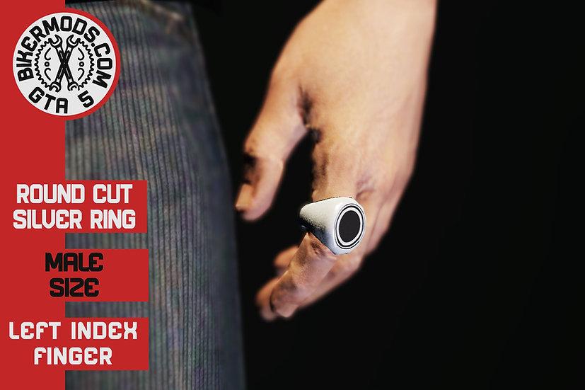 Round Cut Ring (Left Index)