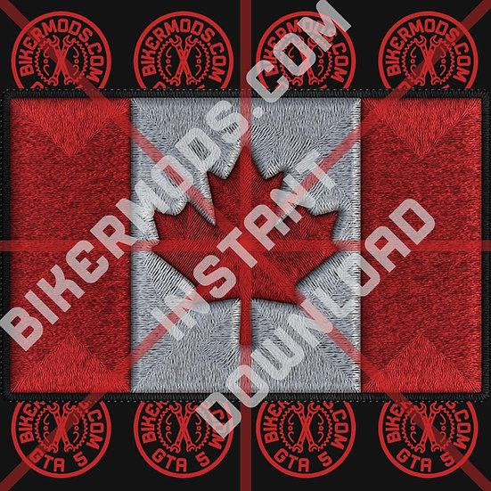 Canada Flag HD Emblem (Instant Download)