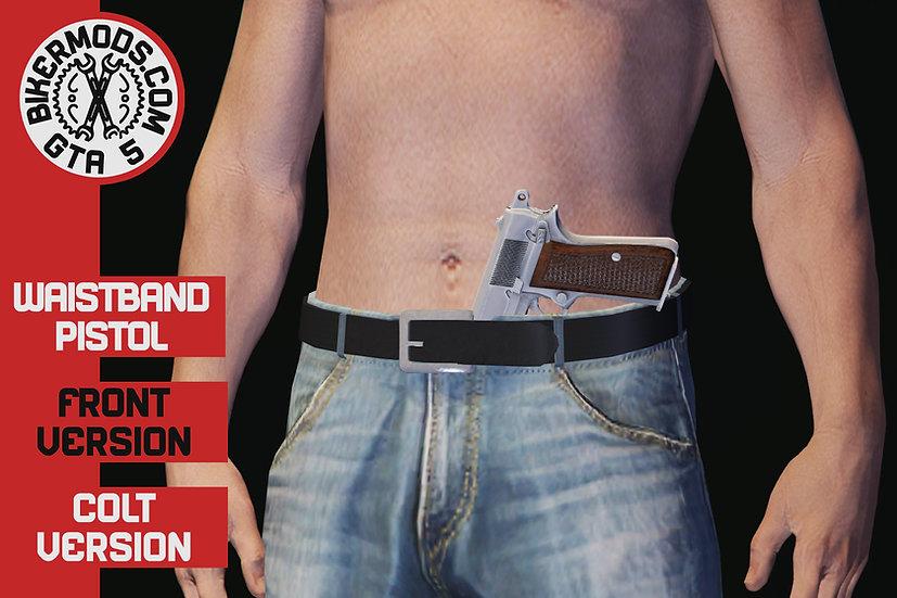 Waistband Pistol Colt (Front)