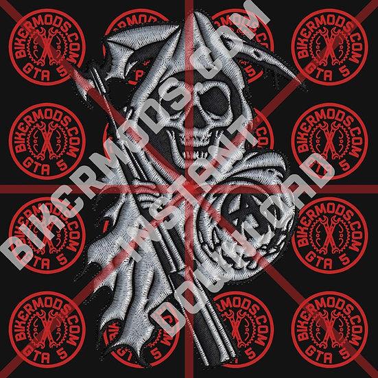 Samcro Reaper 2 HD Emblem (Instant Download)