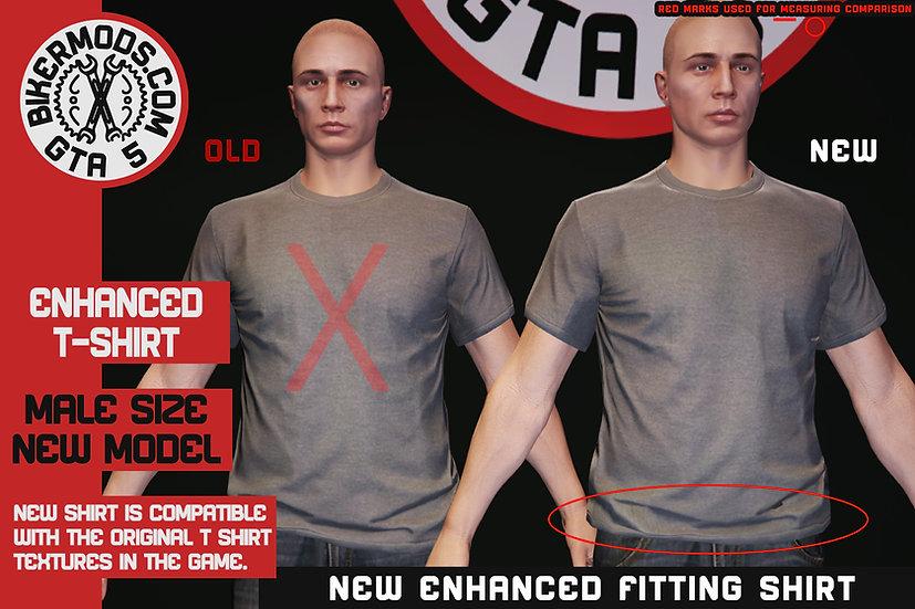Enhanced T-Shirt (Replaces Original/Vanilla Shirt)