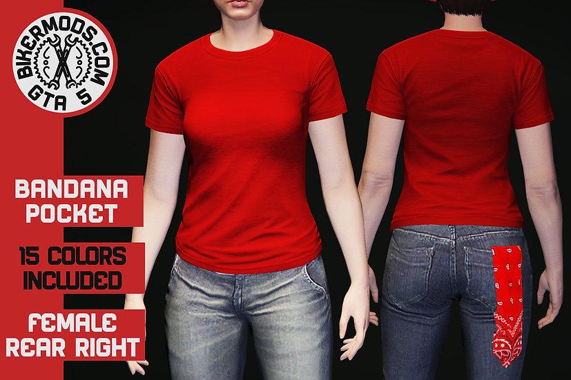 Bandana (Back Right Pocket) (FEMALE)