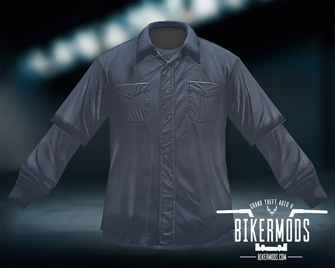Black Flannel Black Shirt Combo