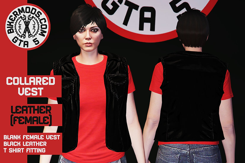 Collared Vest (Female)
